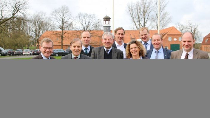 Gruppenbild bei der NPZ